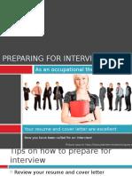 preparingforajobinterview2-120319132307-phpapp01