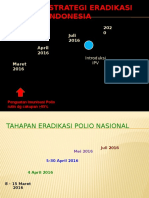 Timeline Strategi Eradikasi Polio Di Indonesia