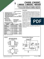 Timers Oscillators CA 555