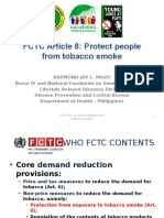 Protecting People From Tobacco Smoke