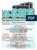 sshs vision statement