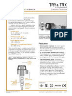 TRY TRX Datasheet Moore Industries