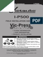 I-p500 Victaulic Field Installation Handbook Vic-press