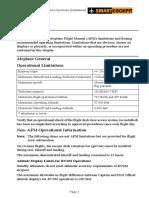 B737CL Limitations