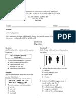 SPM English Paper1