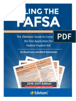 Filing the Fafsa Current Edition