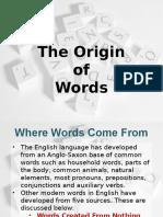 Words of Origin