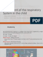 Assessment of the Respiratory System in the Child