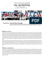 Clay Workshop Report