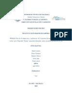 Proyecto de aequiden rivulatus