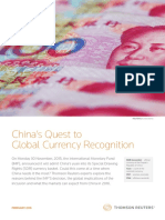 Chinas Quest to Global Currency Recognition