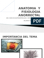 Anatomia y Fisiologia Anorrectal