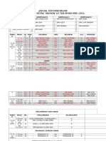 Jadual Pertandingan 2 Terbaru