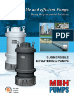 Dewatering Pumps Catalogue