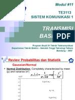 Modul_11 Siskom1_Base Band Transmission