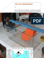 Lab. Hidraulica 1 Guia 1 Principio de Arquimides(2015)