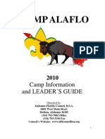 2010 Camp Alaflo Leaders Guide