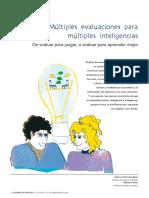 7.- MULTIPLES EVALUACIONES PARA MÚLTIPLES INTELIGENCIAS.pdf