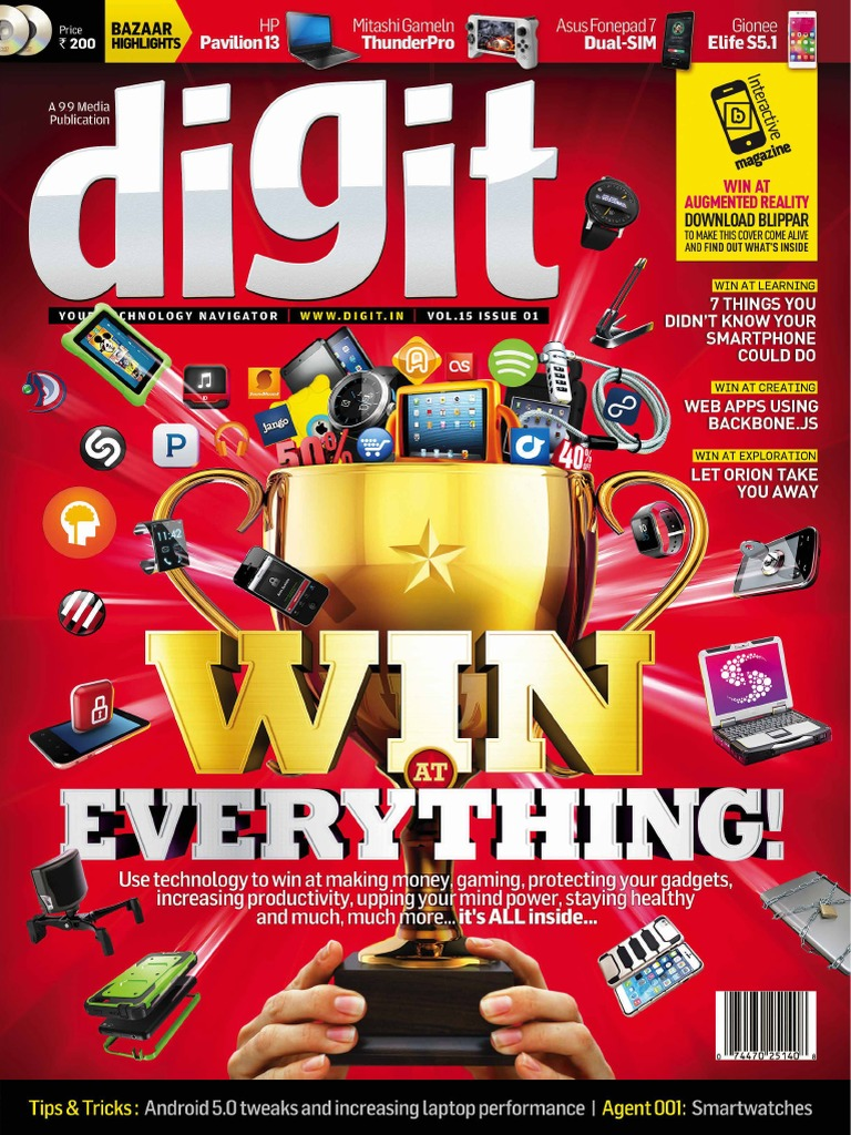 Digit Vol 15 Issue 01 January 2015 | Chromebook | Tecnología