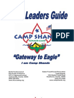 Camp Shands 2010 Leaders Guide