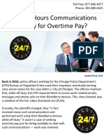 Do After-Hours Communications Qualify for Overtime Pay?
