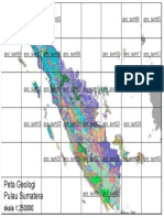 Peta Geologi Sumatera
