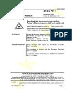 54280709 SR en 771-1-2003 Specificatii Ale Elementelor Pentru Zidarie Partea 1