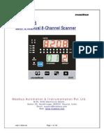 Masibus 8208 Manual