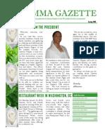 Gamma Gazette, Spring 2010 issue
