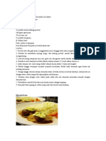 Dokumen resep jepang