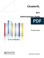 CP R77 ClusterXL AdminGuide