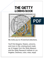 TheGetty Coloring Book