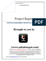 Portfolio Management And Mutual Fund Analysis.pdf