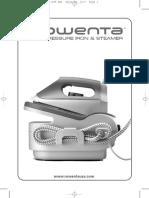 ROWENTA pressure iron & steamer