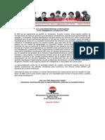Declaración Pública Conferencia de Prensa Sobre La Legalización Del Partido – 14 Febrero de 2016