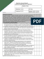 Quality Manager Job Description - 09-13