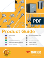 Product Guide Thermocouples