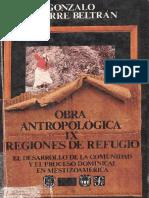 Regiones de Refugio - Aguirre Beltran, Gonzalo