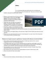Pmfias.com Geomorphology Plateau