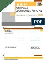 Modulo II Submodulo III