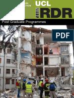 IRDR Postgraduate Program 2015