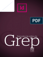 Estilos Greep no Indesign