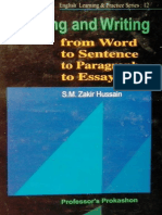 Thinking and Writing from Word to Sentence to Paragraph to Essay