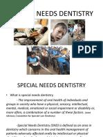 11, 12, 13 - Special Needs Dentistry