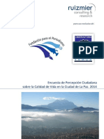 Informe encuesta 2014