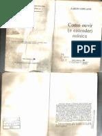 Como Ouvir e Entender Musica -A. Copland