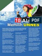 10 Alasan Memilih Unnes