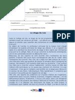 Teste Nº 3 de Francês