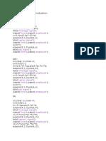 Matlab Code for Digital Modulation