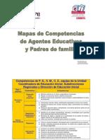mapas competencias agentes y padres